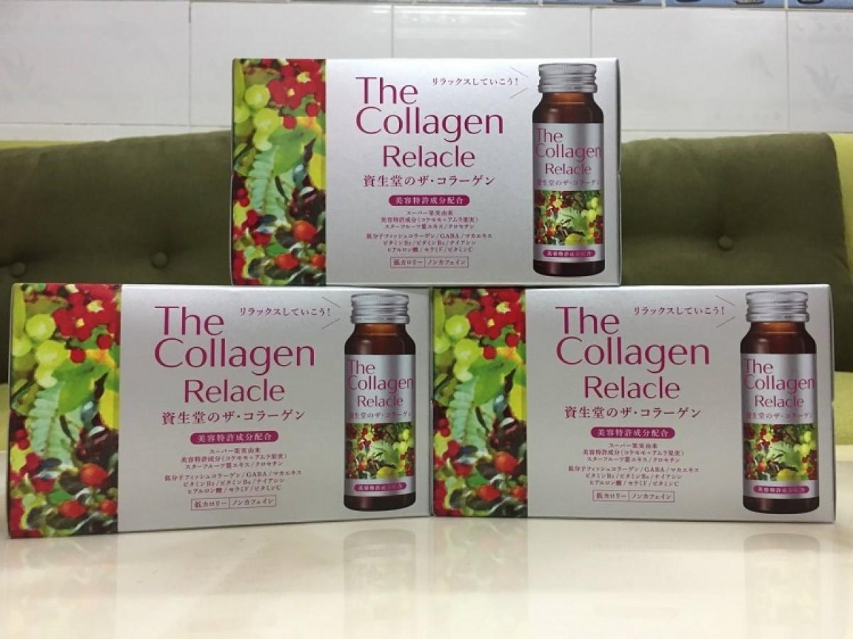 The Collagen Relacle Shiseido Nhật Bản Dạng Nước