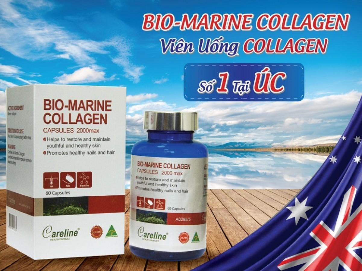 Viên Uống Bio-Marine Collagen Capsules 2000max Của Úc