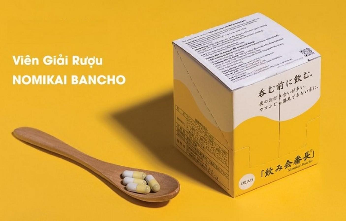 Viên Uống Giải Rượu Nomikai Bancho Nhật Bản