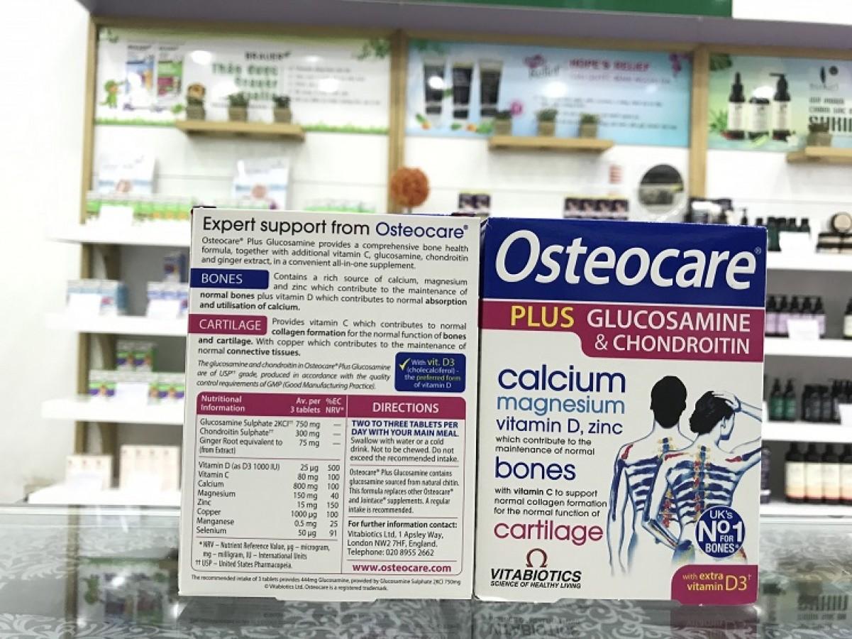Viên Uống Sụn Khớp Osteocare Plus Glucosamine
