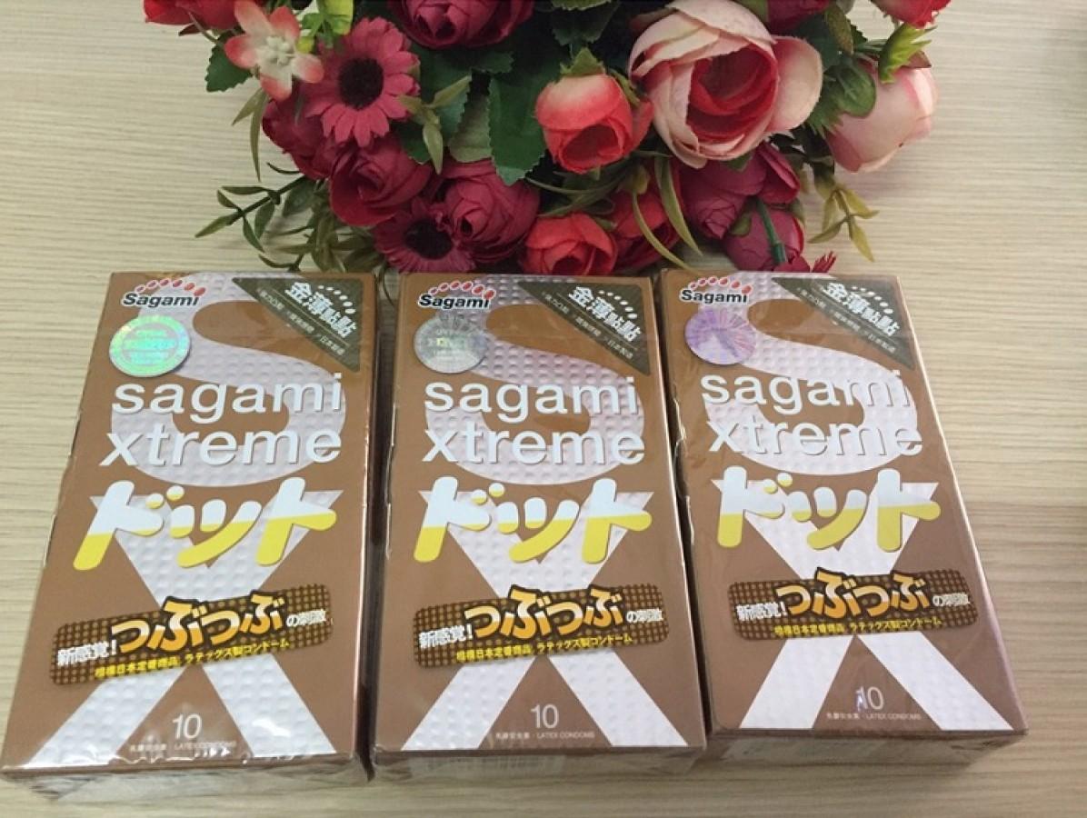 Bao Cao Su Sagami Xtreme Feel Up Hộp 10 Chiếc