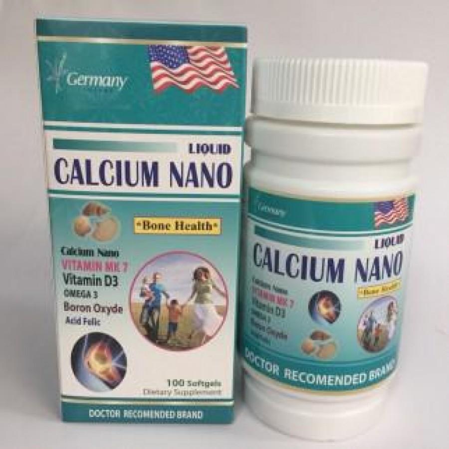 Viên Uống Bổ Sung Calcium Nano Và Vitamin K7