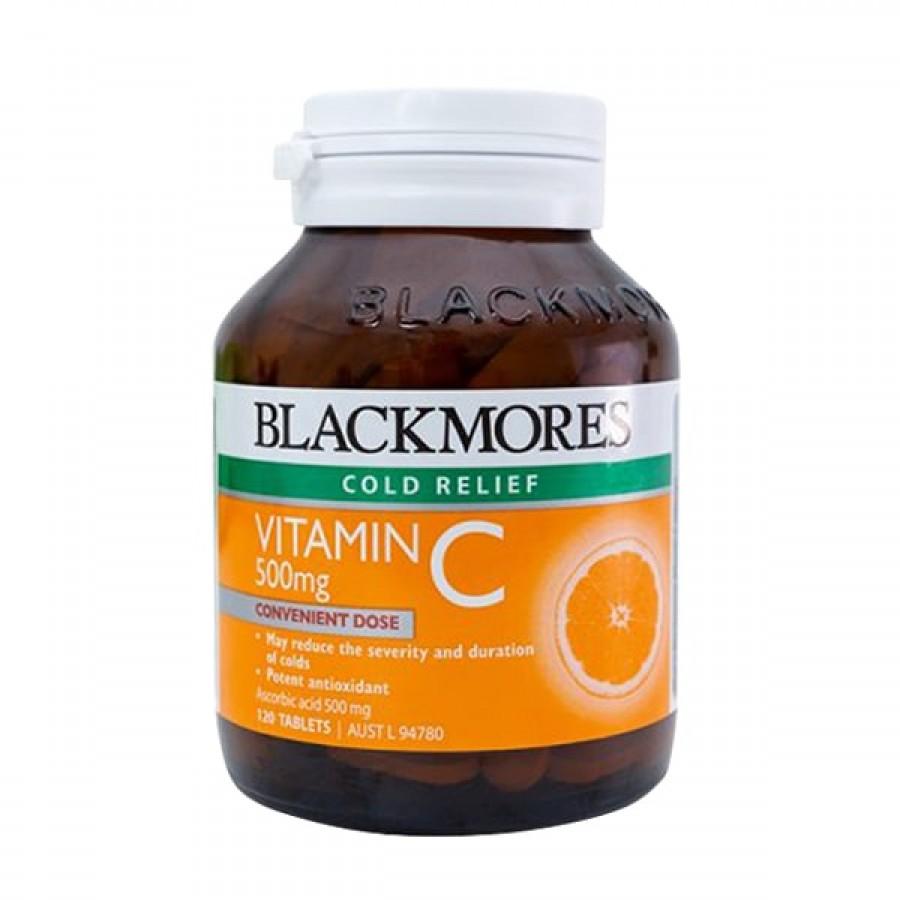 Viên Uống Bổ Sung Vitamin C 500mg Blackmores Của Úc