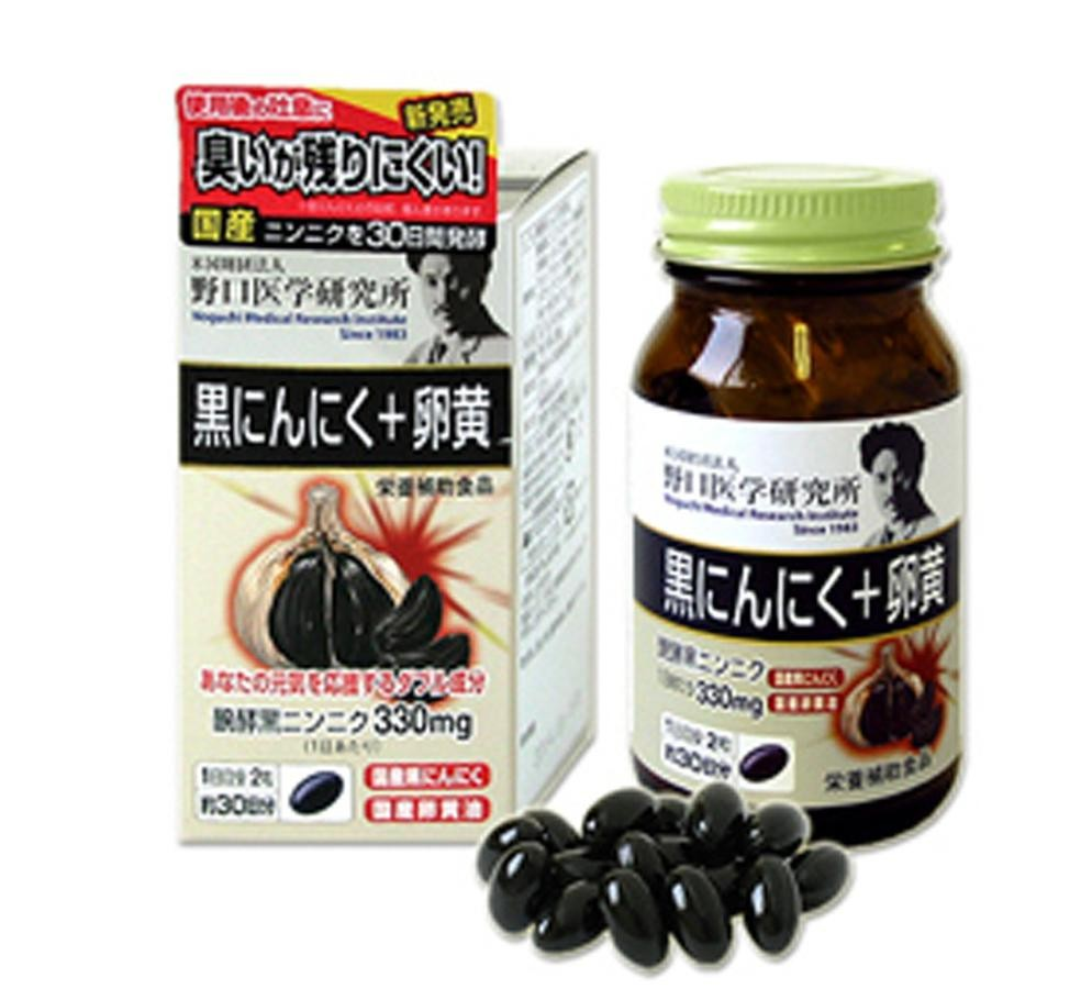 Viên Uống Tỏi Đen Noguchi Meiji Nhật Bản