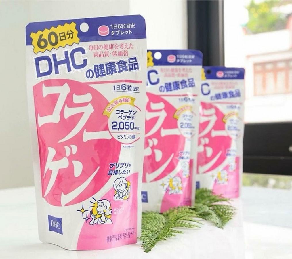 Viên Uống DHC Collagen 60 Ngày