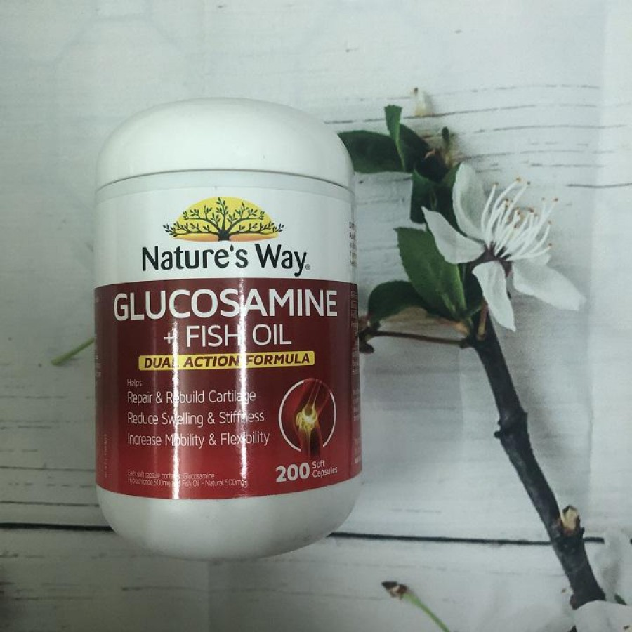Viên Nature's Way Glucosamine Fish Oil