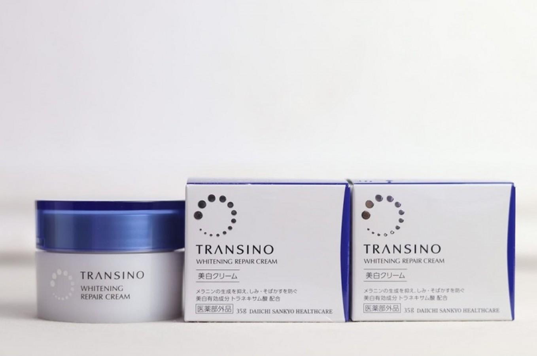 Kem Dưỡng Trắng Da Transino Whitening Repair Cream Của Nhật