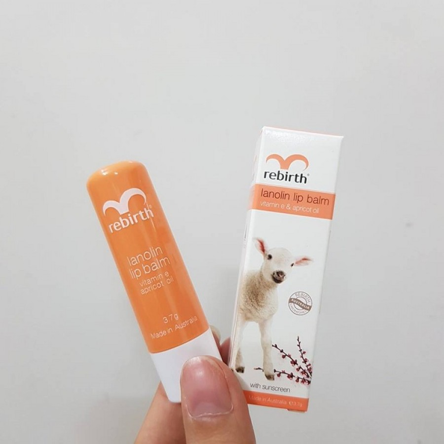 Son Dưỡng Môi Rebirth Vanilla Lip Balm