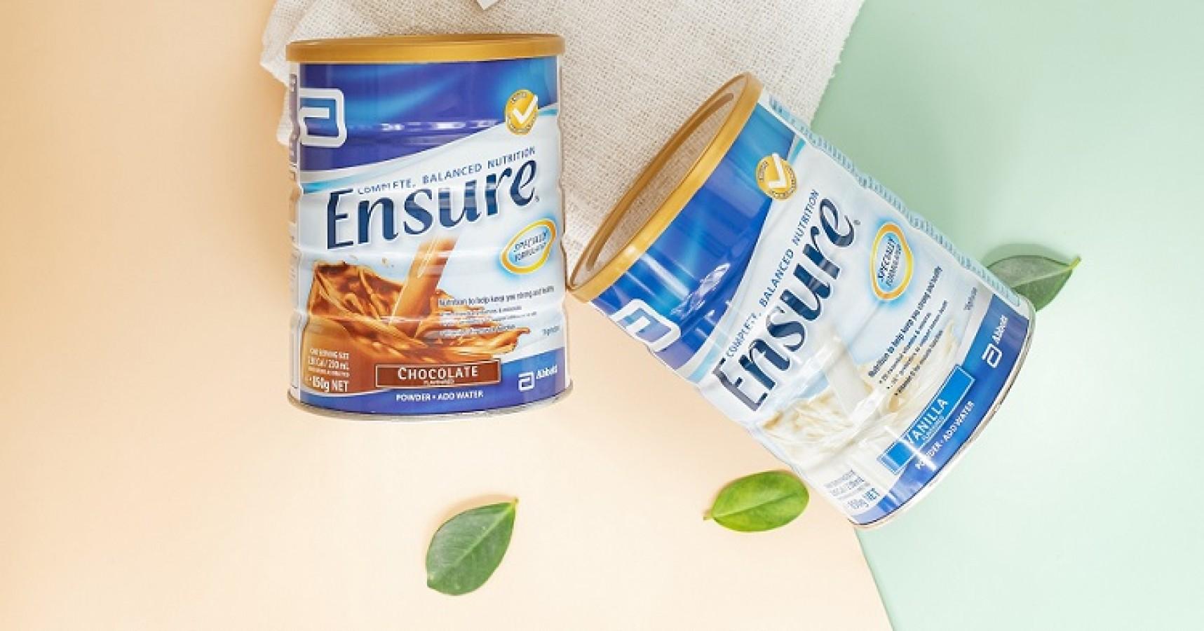 Sữa Bột Ensure Vanilla Powder 850g Từ Úc