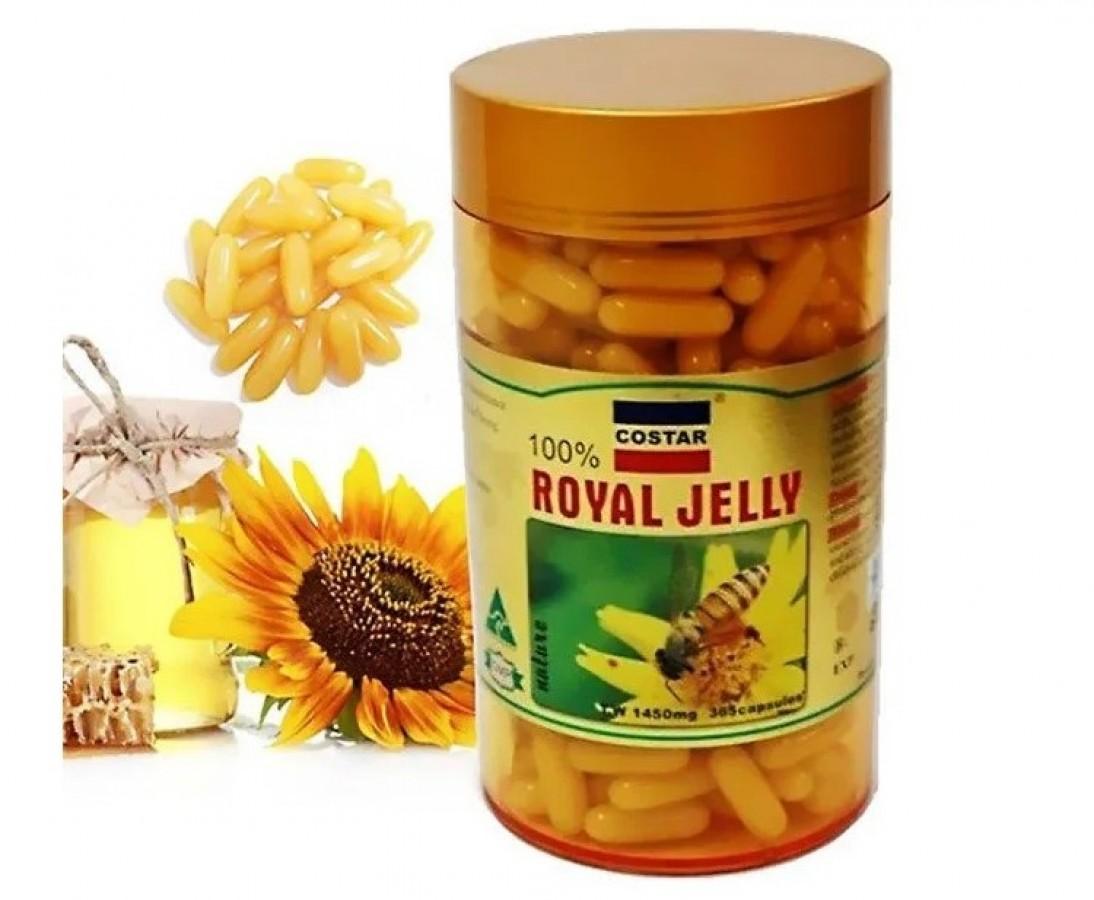 Sữa Ong Chúa Costar Royal Jelly 1450mg Của Úc