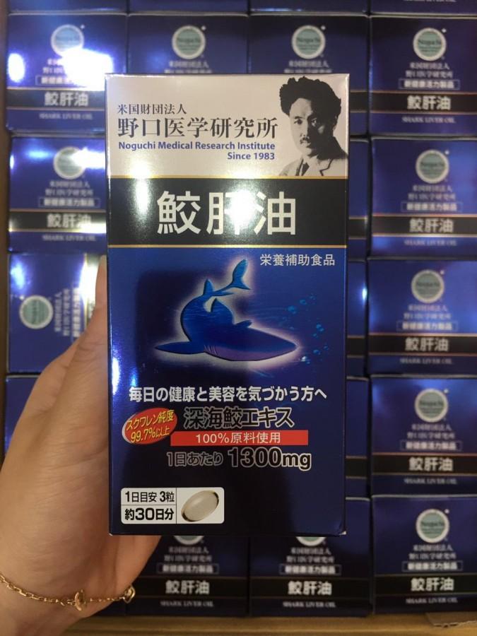 Viên Uống Dầu Gan Cá Noguchi 1300mg Nhật Bản