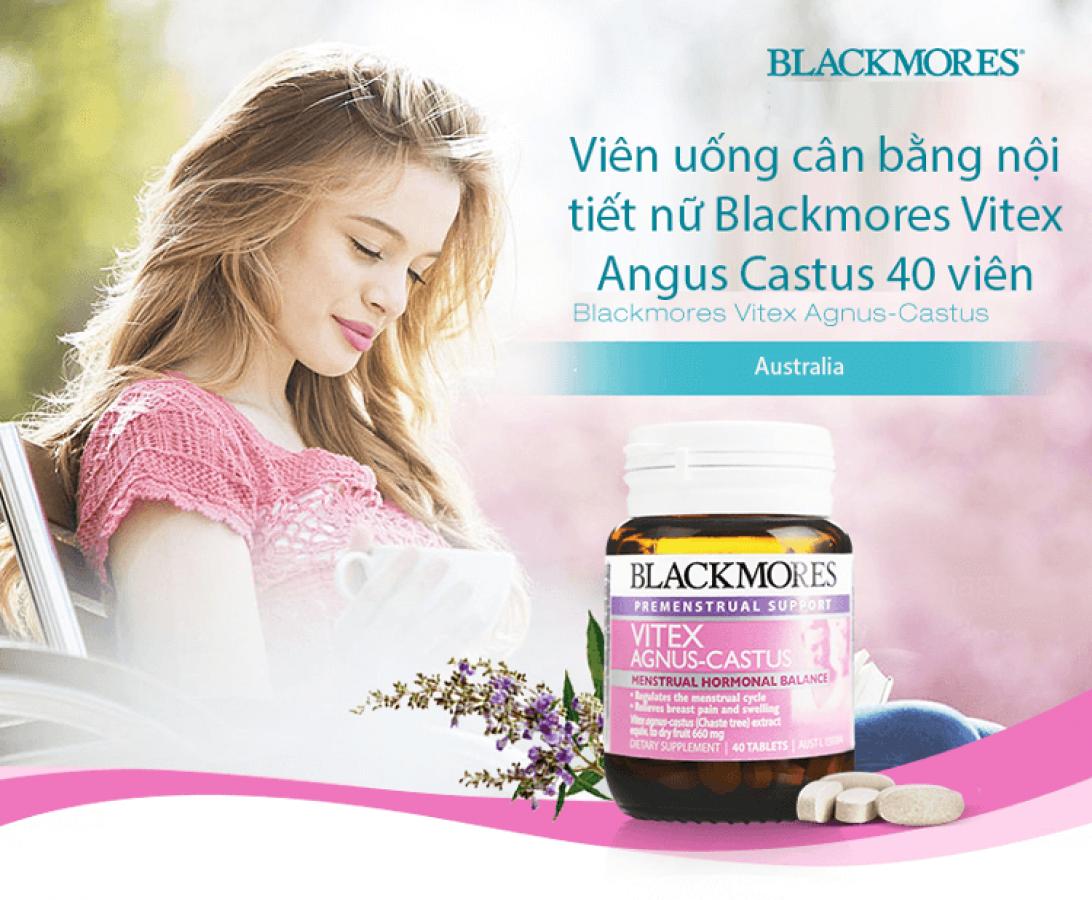 Viên Uống Nội Tiết Tố Nữ Blackmores Vitex Agnus Castus