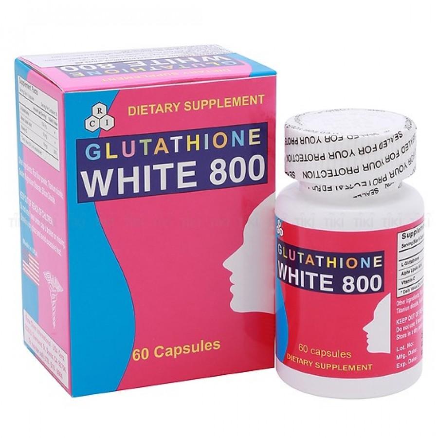 Viên Uống Trắng Da Glutathione White 800