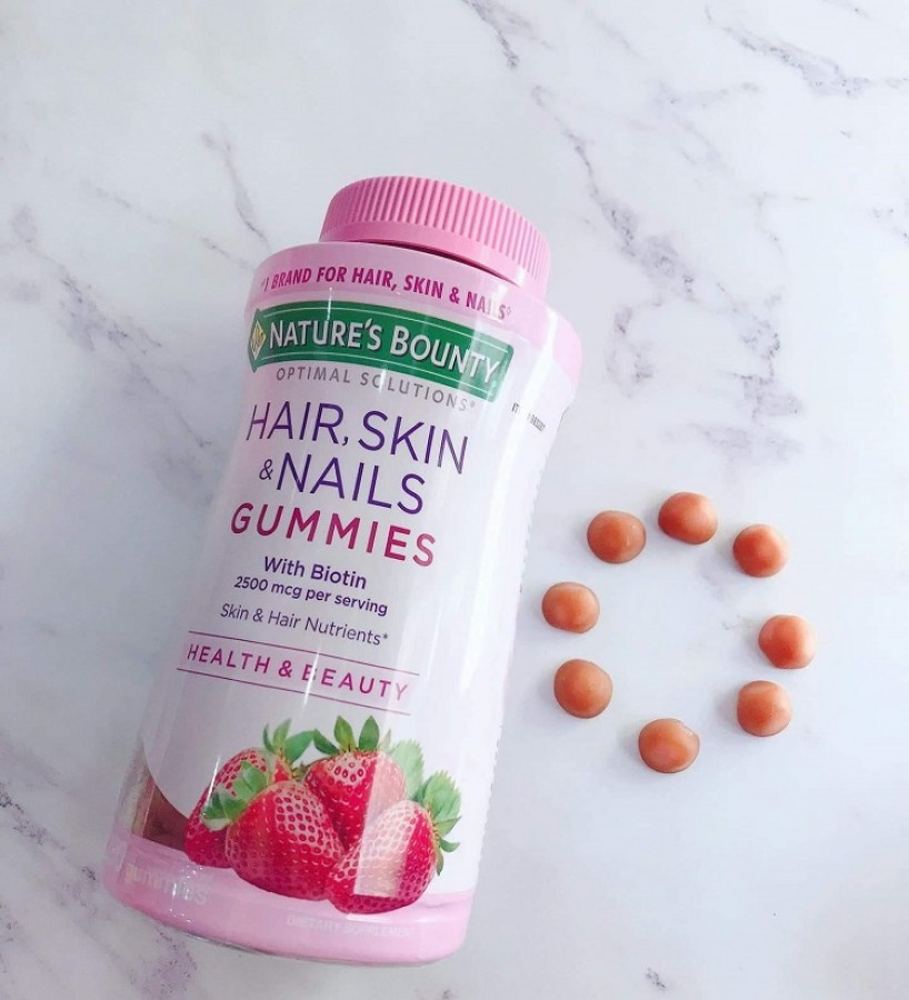 Kẹo Hair Skin Nails Gummies