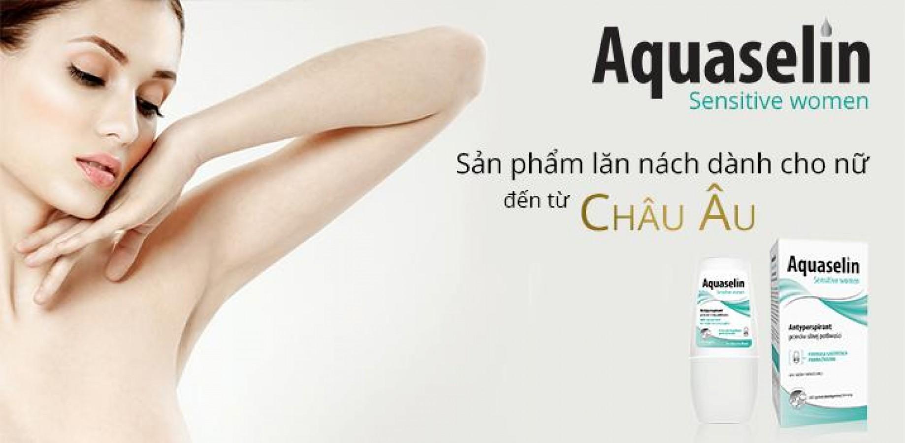 Lăn Khử Mùi Aquaselin Sensitive Women Cho Nữ