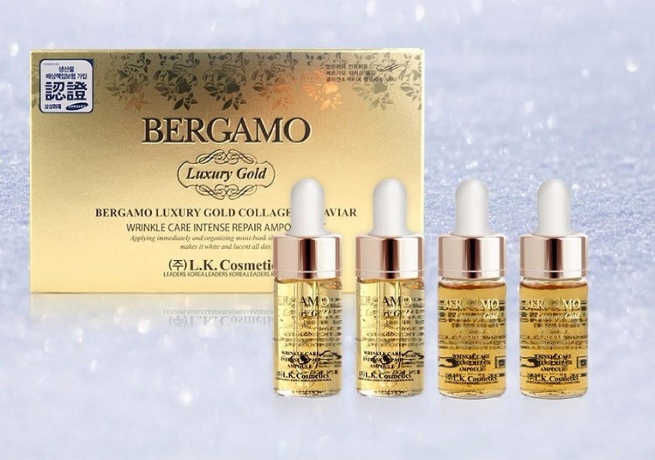 Serum Bergamo Luxury Gold Collagen & Caviar
