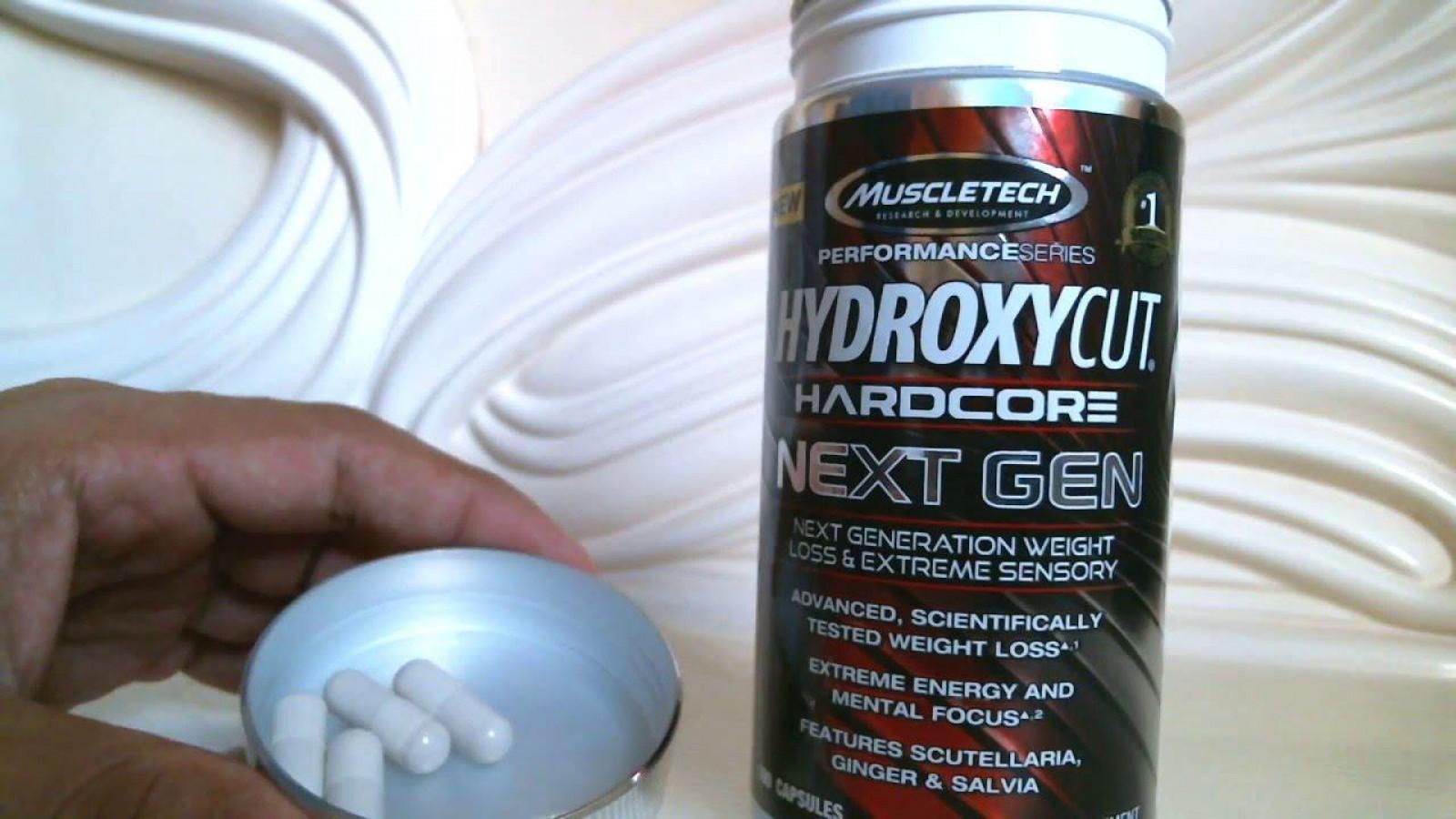 Viên Uống Giảm Cân Đốt Mỡ Hydroxycut Next Gen