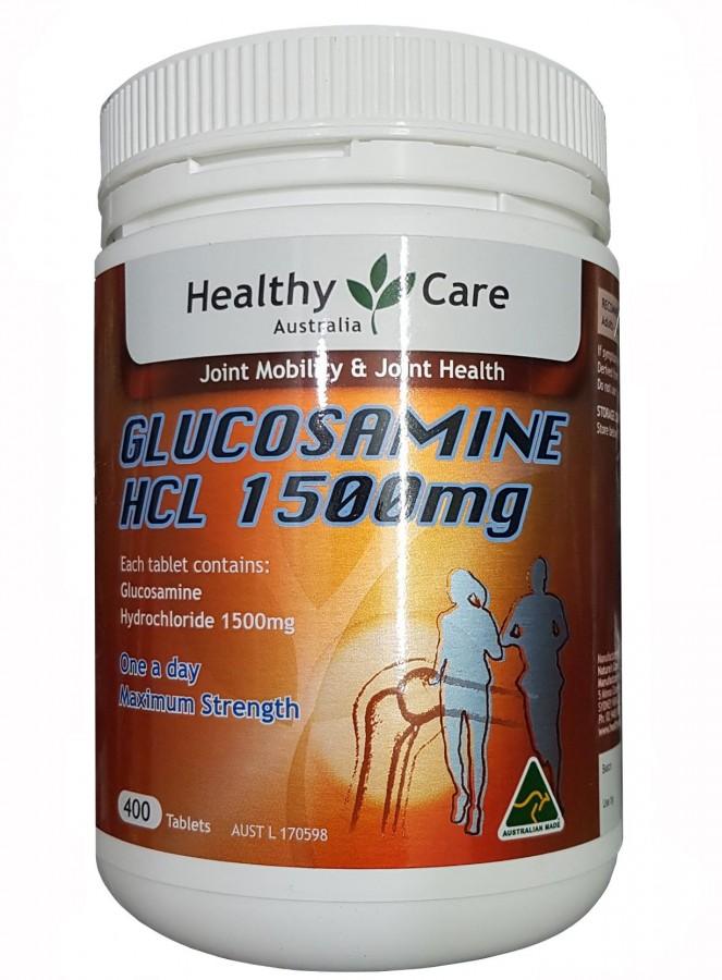 Viên Uống Glucosamine HCL 1500mg Healthy Care