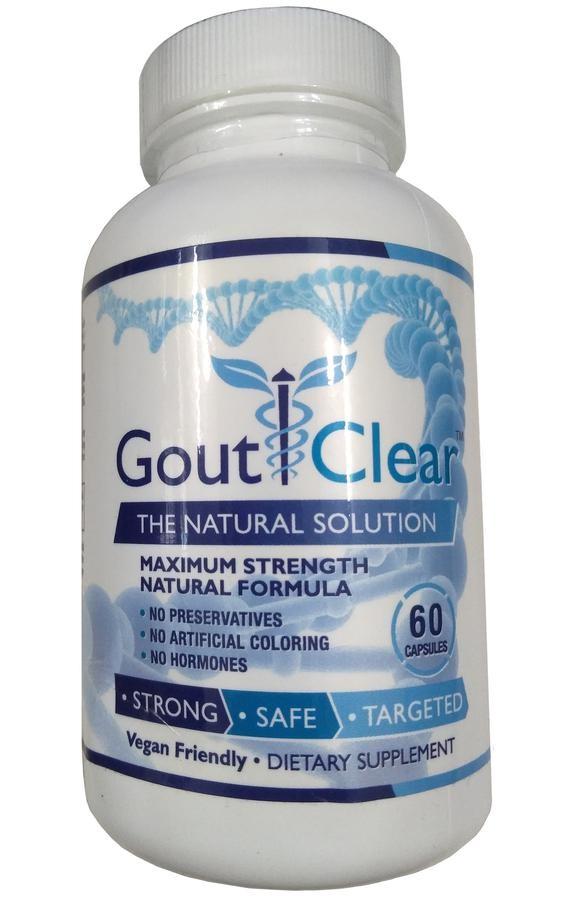 Viên Uống Hỗ Trợ Cải Thiện Tình Trạng Gout Gout Clear