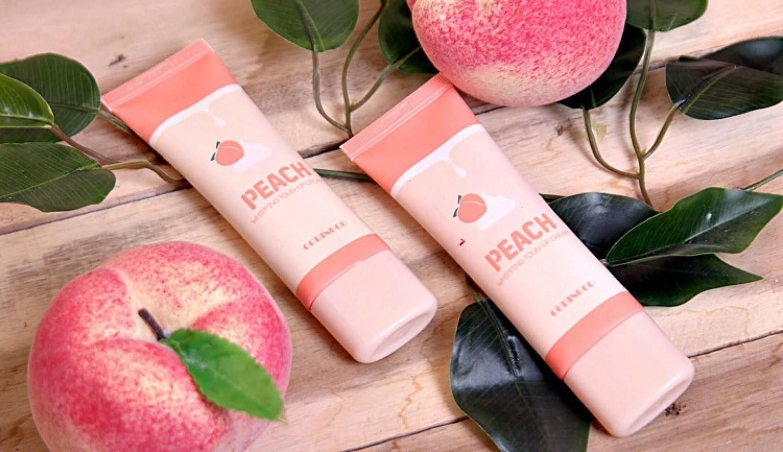 Kem Dưỡng Trắng Da Coringco Peach Whipping Tone Up Cream