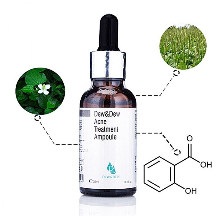 Serum Trị Mụn Dew & Dew Acne Treatment Ampoule