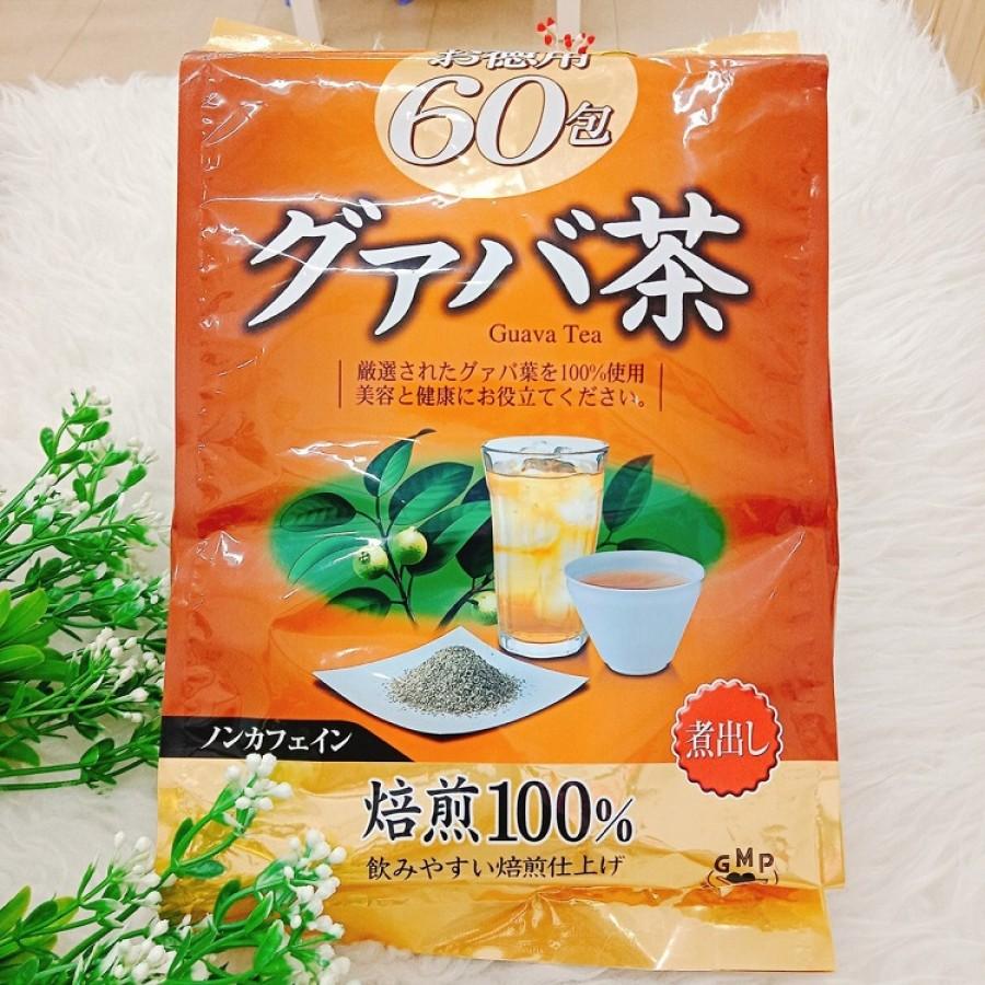 Trà Giảm Cân Vị Ổi Orihiro Guava Tea Nhật Bản