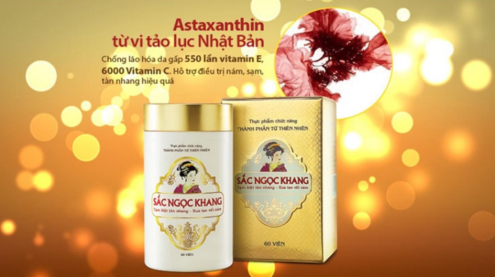 Viên Uống Sắc Ngọc Khang Cải Thiện Nám, Tàn Nhang