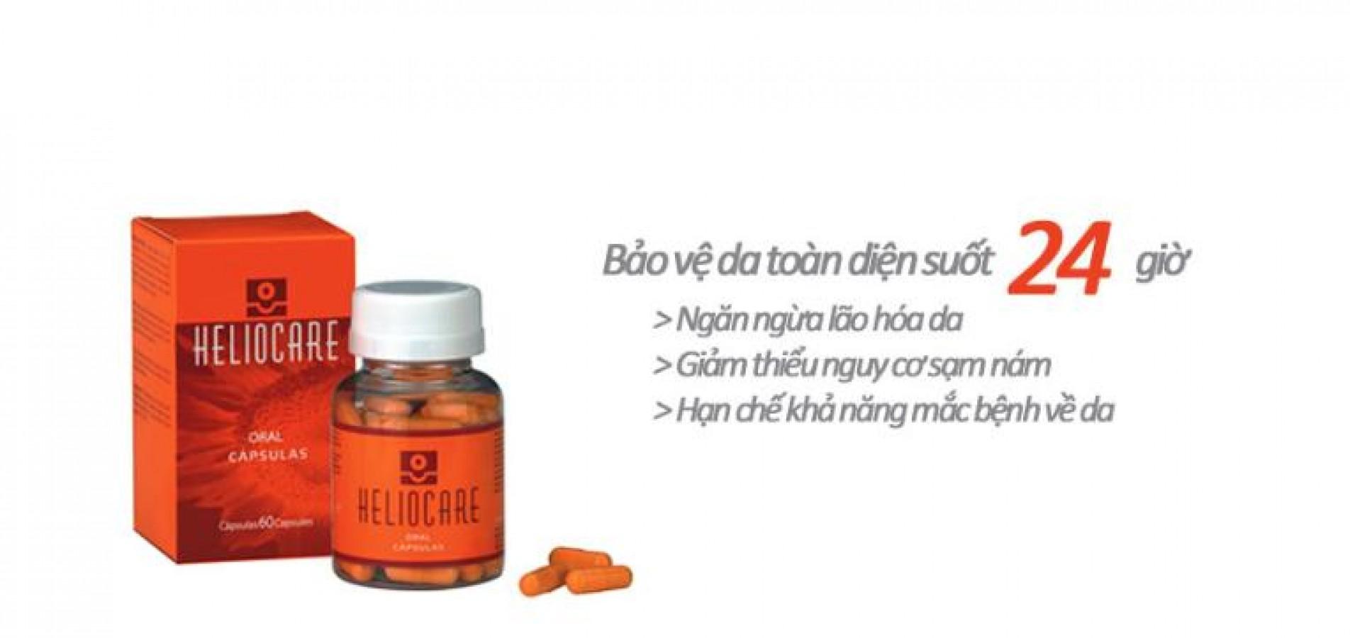 Viên Uống Chống Nắng Heliocare Oral 60 Viên
