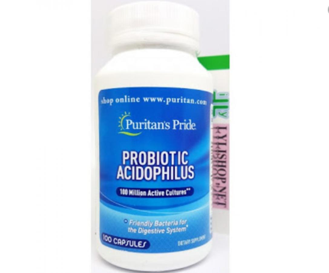 Men Vi Sinh Probiotic Acidophilus Puritan's Pride