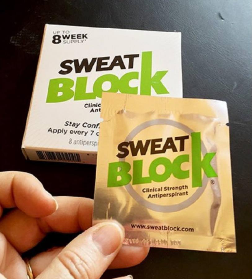 Miếng Khử Mùi, Hỗ Trợ Trị Hôi Nách Sweatblock Antiperspirant