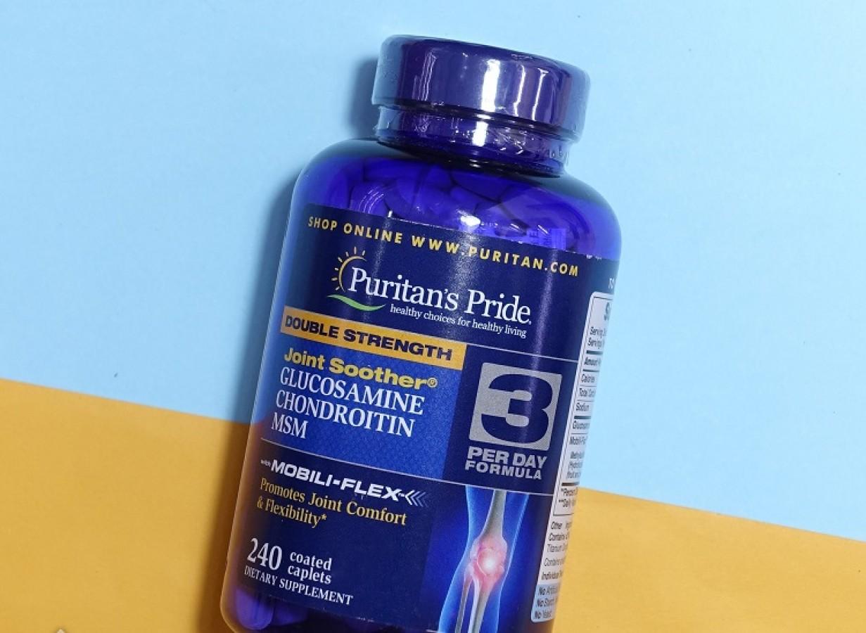Viên Uống Glucosamine Chondroitin & MSM Puritan's Pride