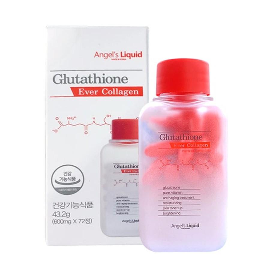 Viên Uống Hỗ Trợ Trắng Da Glutathione Ever Collagen Hàn Quốc