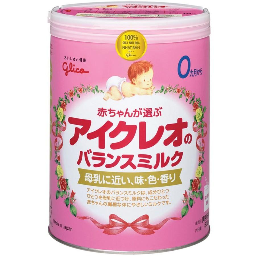 Sữa Glico Icreo Số 0 Cho Trẻ Từ 0 - 12 Tháng Tuổi
