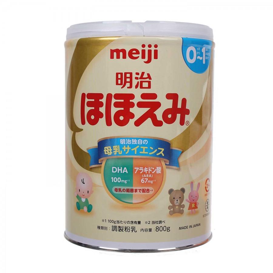 Sữa Meiji Số 0 Dành Cho Bé Từ 0-1 Tuổi Của Nhật