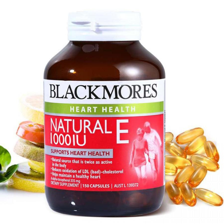 Viên Uống Blackmores Natural Vitamin E 1000IU Của Úc