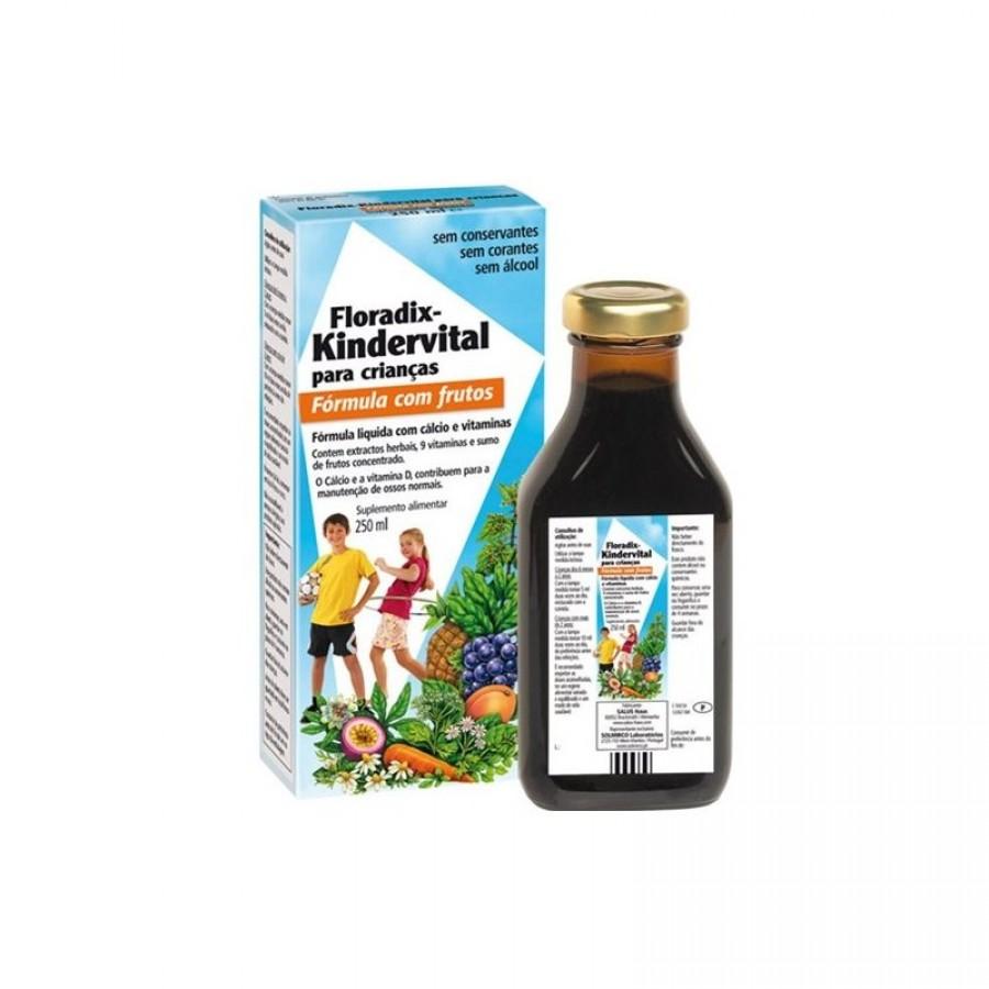 Siro Salus Floradix Kindervital Bổ Sung Canxi & Vitamin