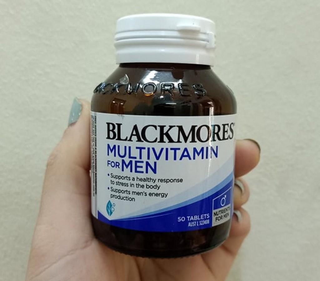 Viên Uống Blackmores Men's Performance Multi Hỗ Trợ Sinh Lý Nam
