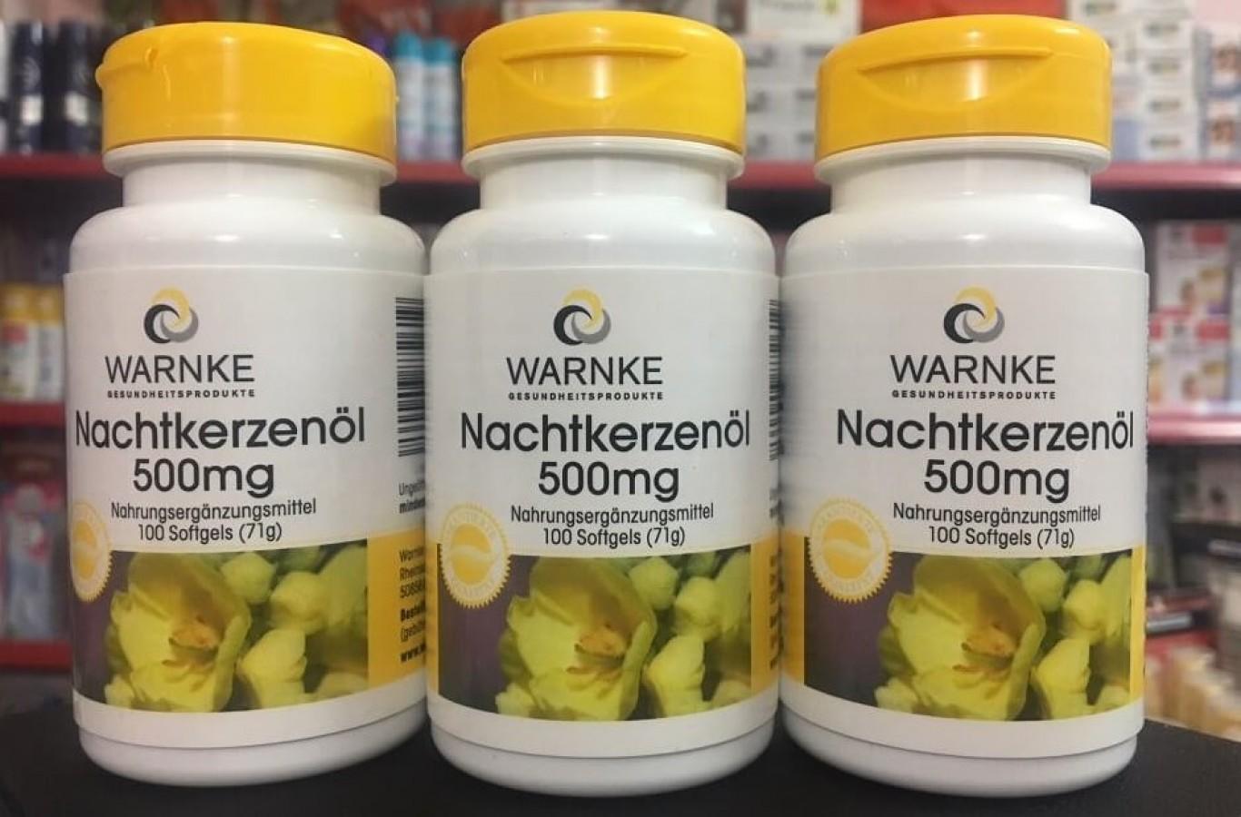 Viên Uống Tinh Dầu Hoa Anh Thảo Warnke Của Đức