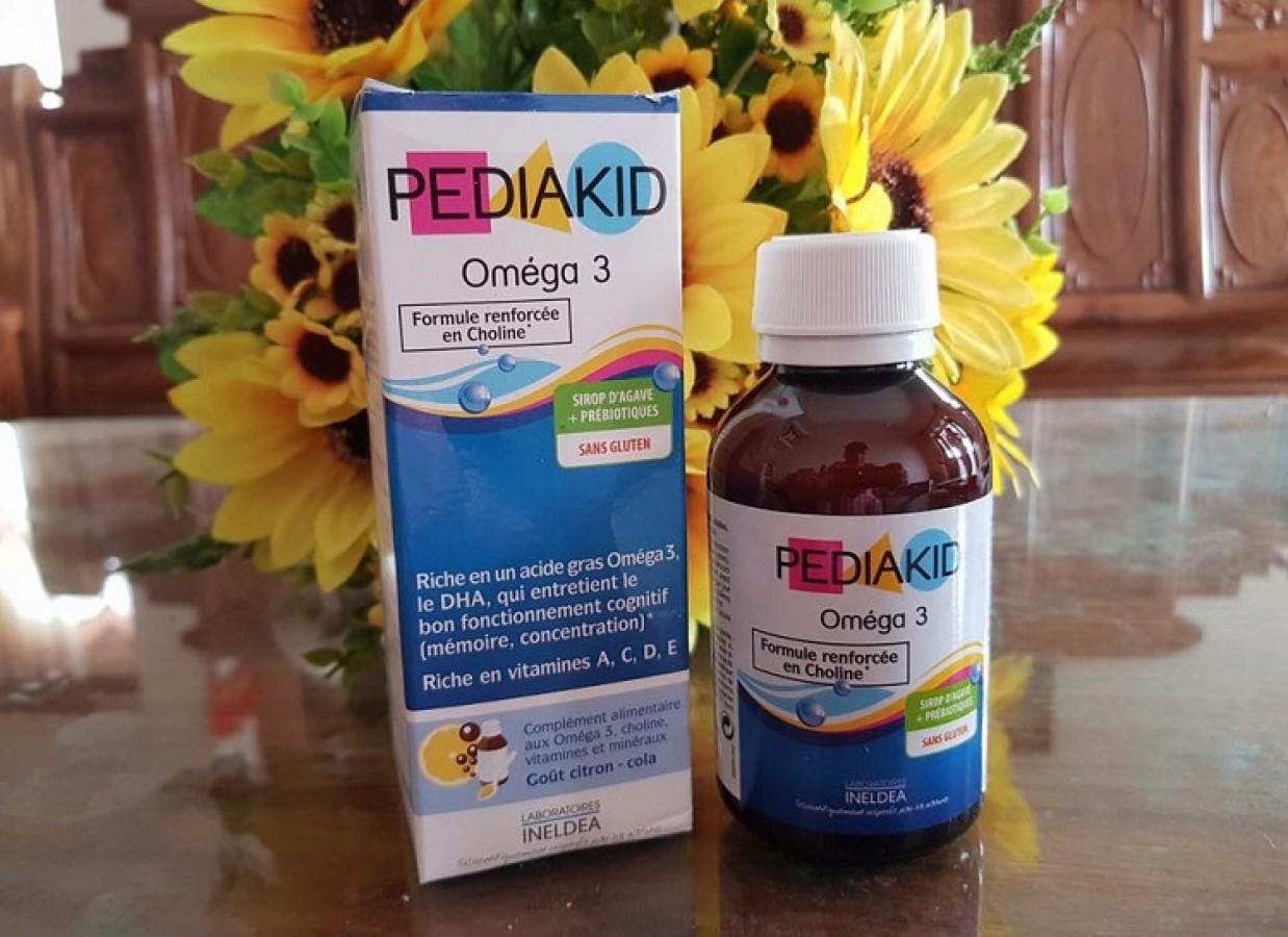 Pediakid Omega 3 Và DHA Cho Bé Từ 6 Tháng Tuổi
