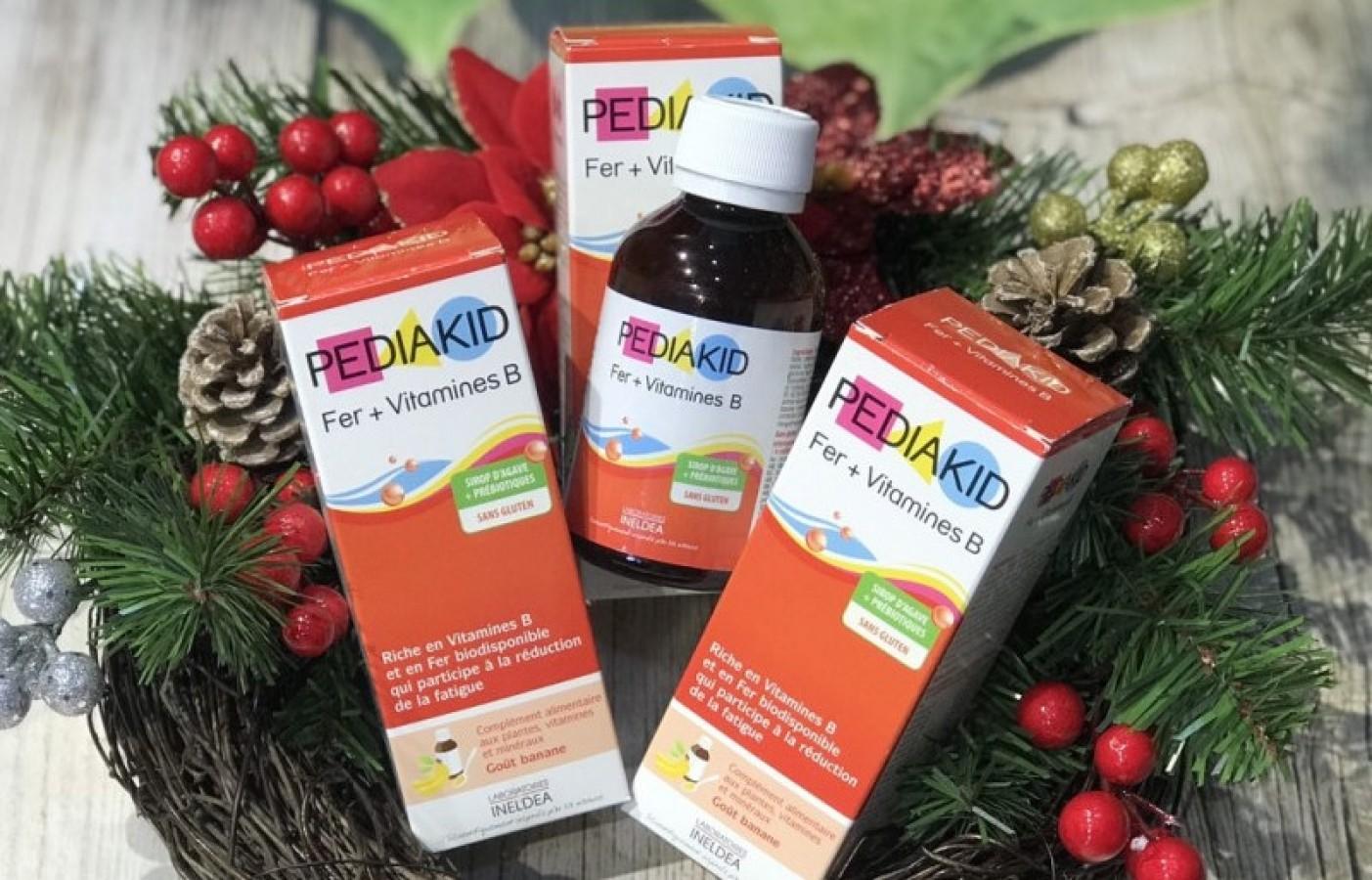 Siro Pediakid Fer + Vitamines B Cho Trẻ Từ 6 Tháng Tuổi
