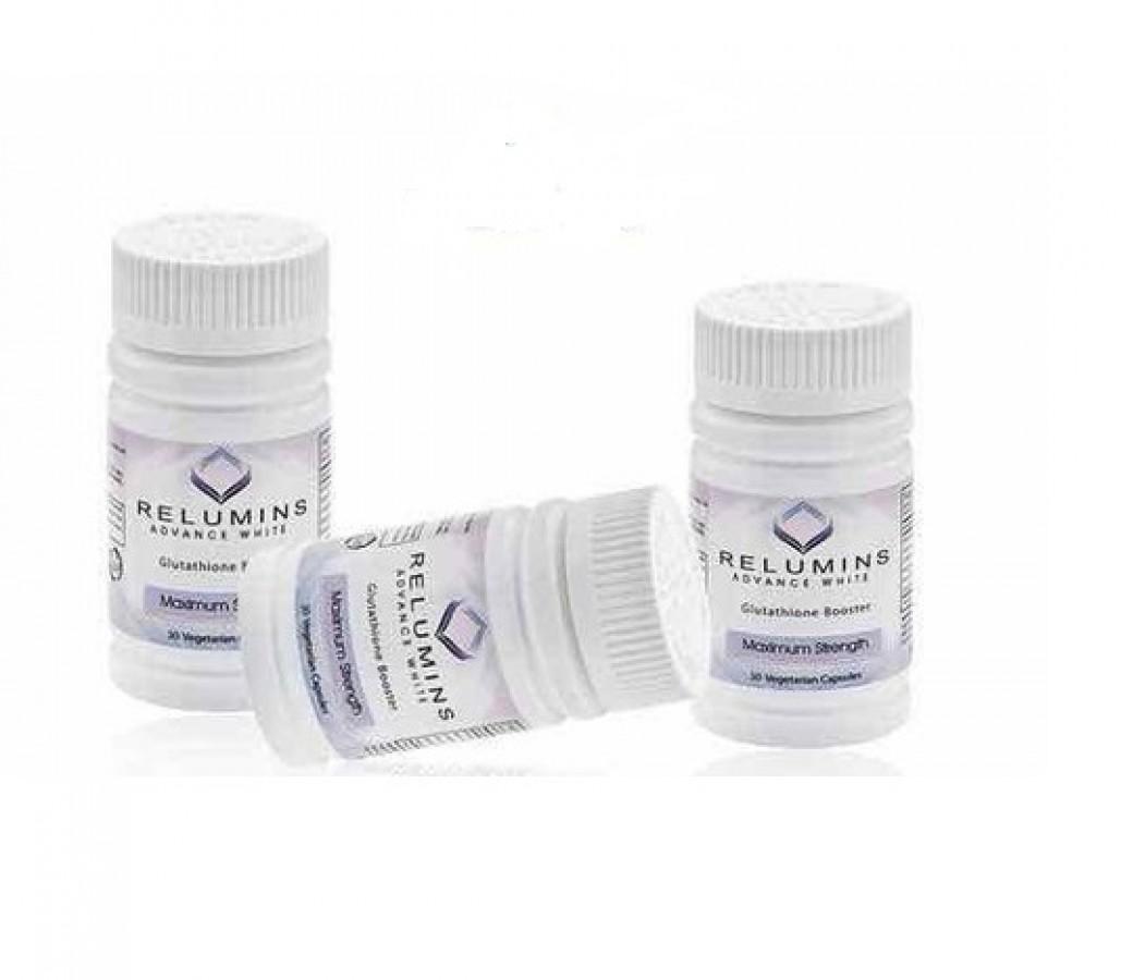 Viên Uống Relumins Glutathione Booster - Max Strength Hỗ Trợ Trắng Da