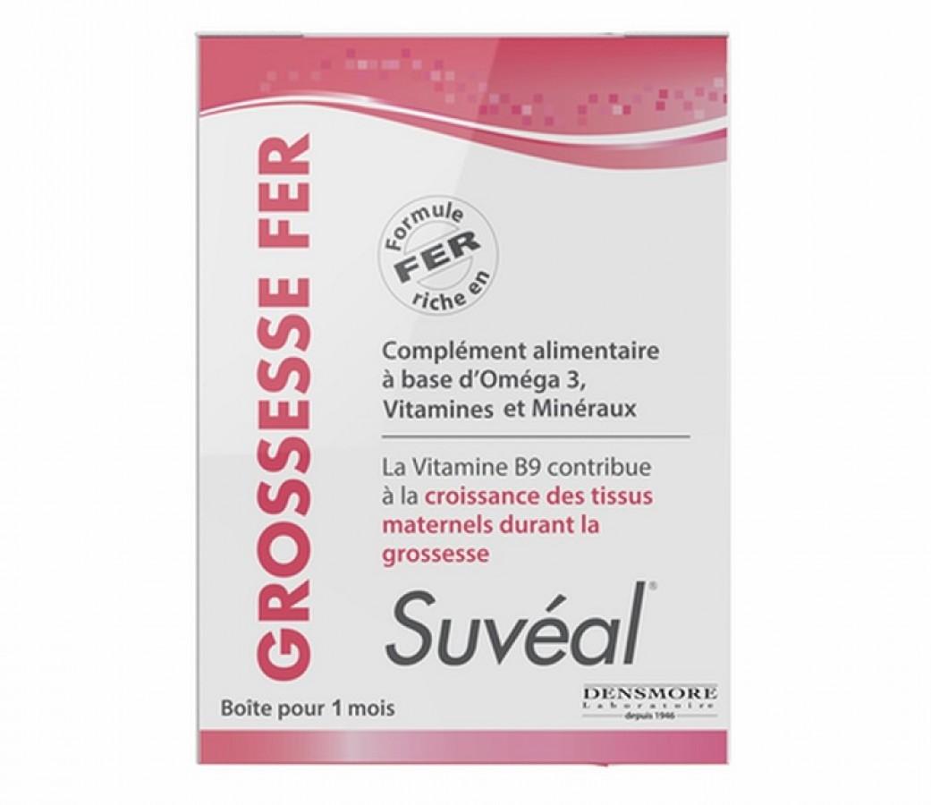 Vitamin Tổng Hợp Suveal Grossesse Fer Cho Bà Bầu Của Pháp