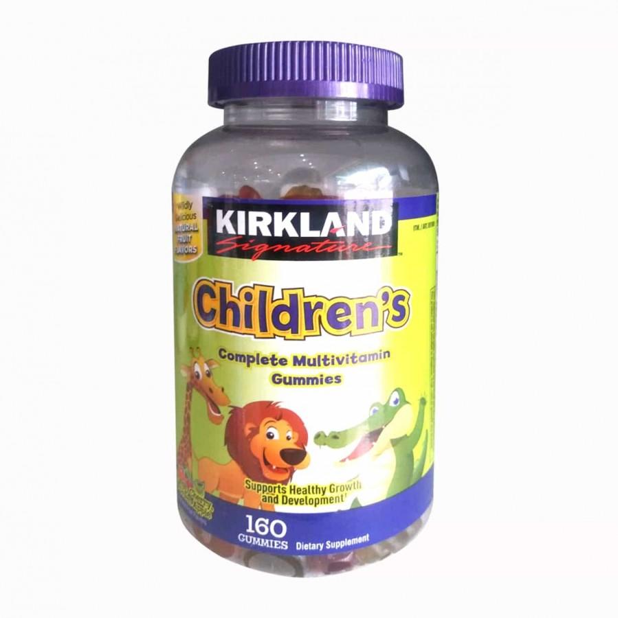 Kẹo Dẻo Bổ Sung Vitamin Cho Bé Kirkland Children's Multivitamin Của Mỹ