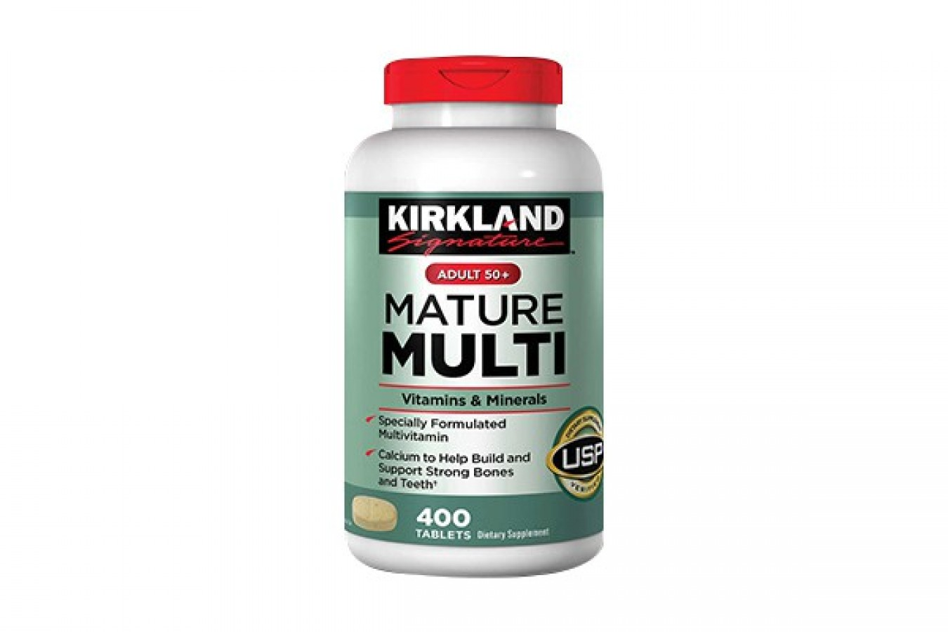 Viên Uống Kirkland Mature Multi Mỹ