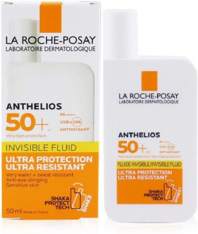 Kem Chống Nắng La Roche Posay Invisible Fluid Dạng Sữa Lỏng Nhẹ Không Nhờn Rít 50ml
