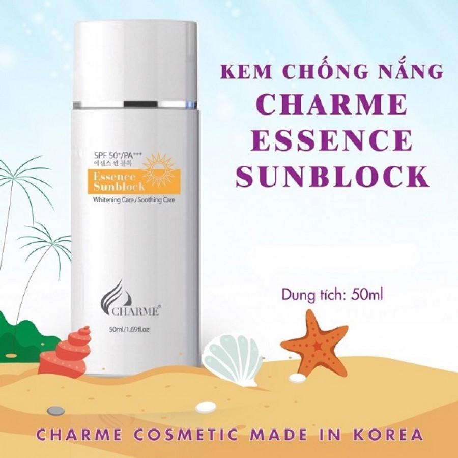 Kem Chống Nắng Charme Essence Sunblock Hàn Quốc 50ml