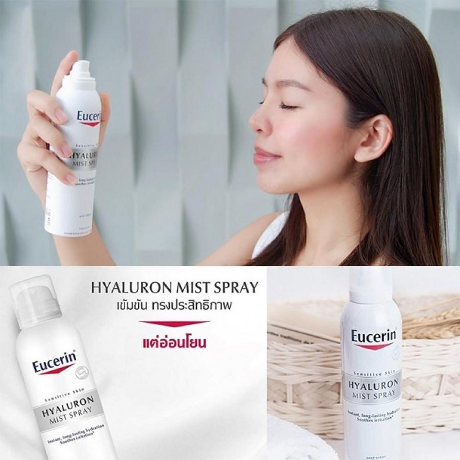 Xịt Khoáng Eucerin Hyaluron Mist Spray Vòi Xịt Êm