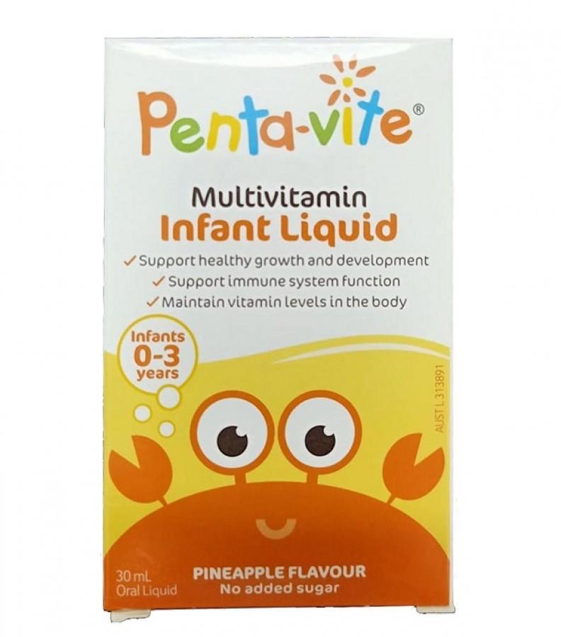 Pentavite Multivitamin - Vitamin Tổng Hợp Cho Bé 0-3 Tuổi 30ml