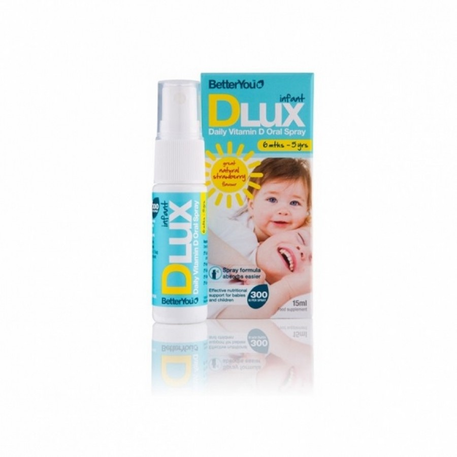 Vitamin D3 Dlux Dạng Xịt Của Anh 0 - 3 Tuổi