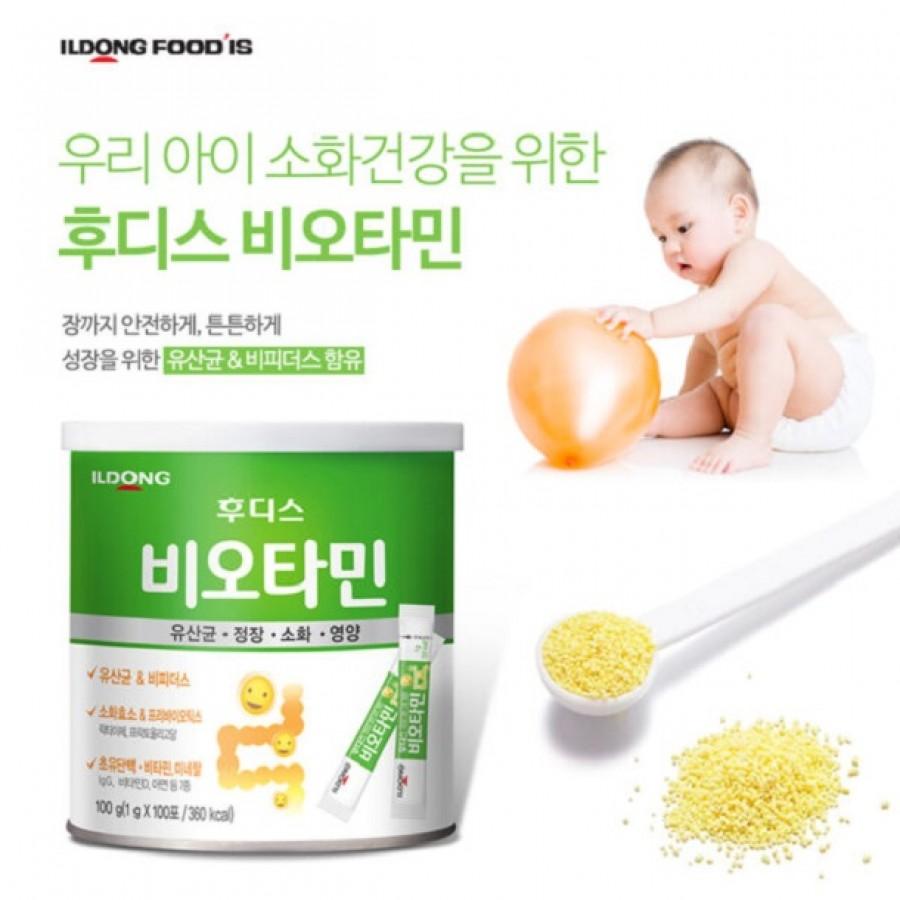 Men Vi Sinh Hàn Quốc ILDong Cho Trẻ Từ Sơ Sinh